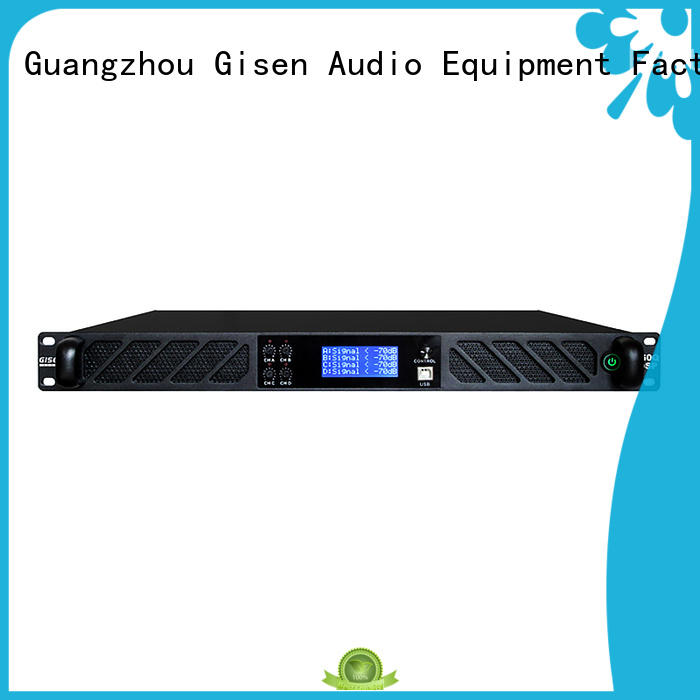 Gisen professional dj power amplifier wholesale for stage