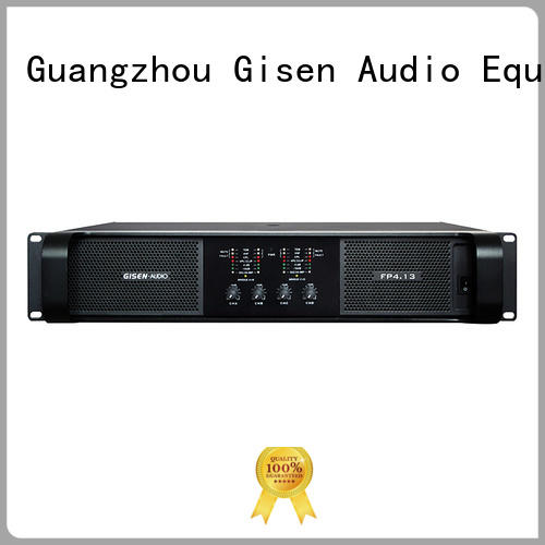 Gisen unreserved service high power audio amplifier 4x1300w for vocal concert