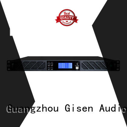 Gisen professional pro dj amplifier 2channel for performance