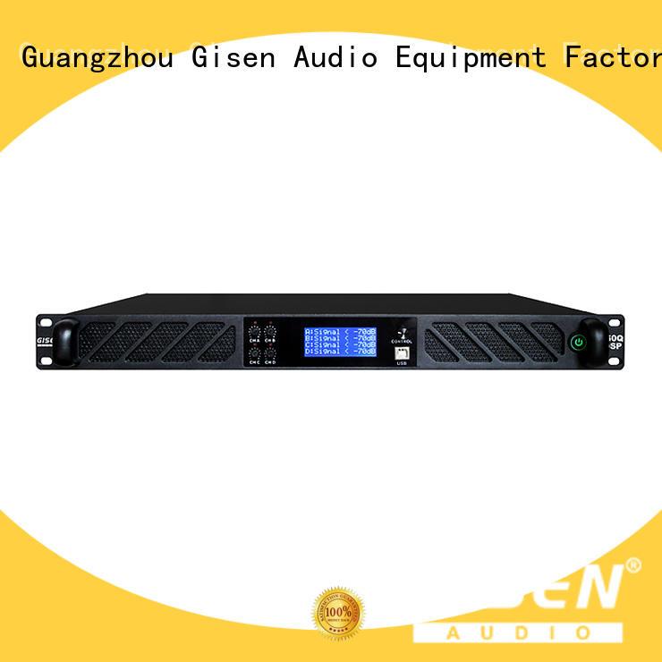 Gisen german amplifier sound system manufacturer for performance