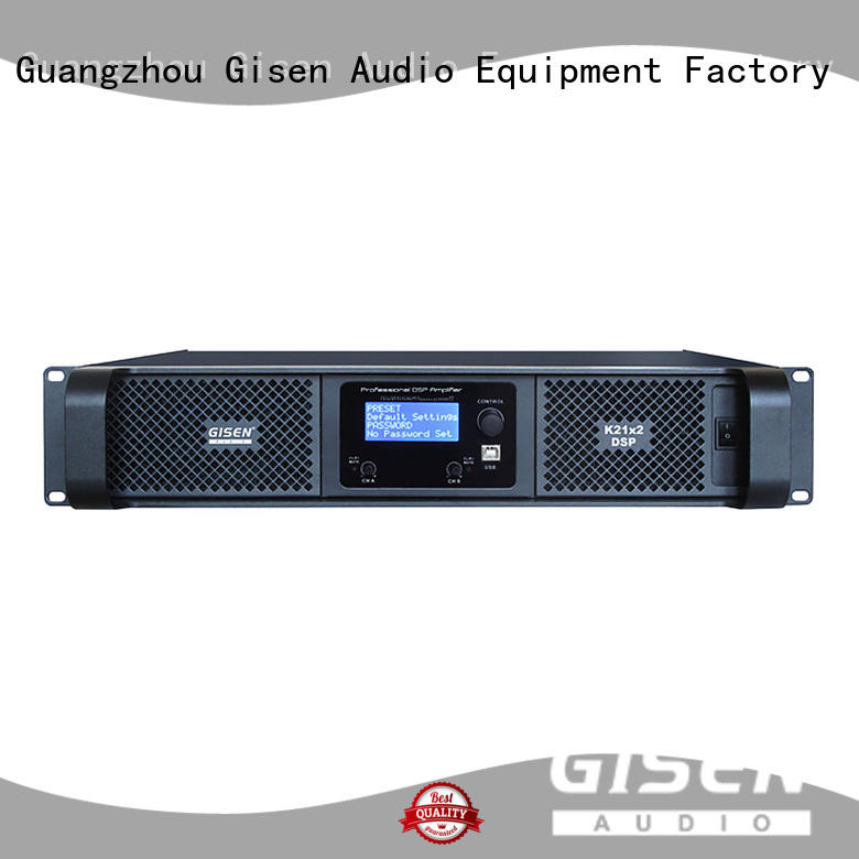 Gisen high quality high power digital amplifier wholesale for various occations