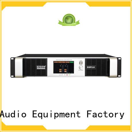 2100wx4 dj power amplifier wholesale for venue Gisen