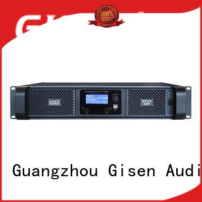 Gisen dsp multi channel amplifier manufacturer