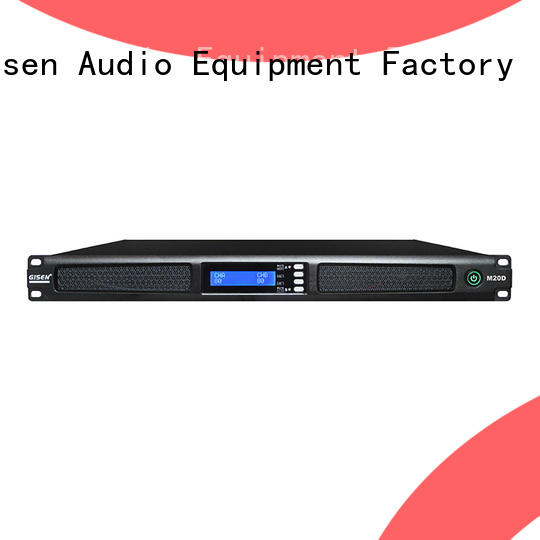 Gisen 2channel 4 channel power amplifier series for entertainment club