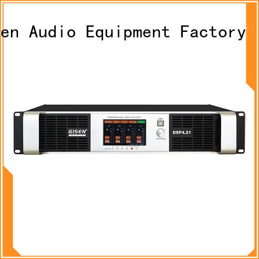 Gisen 2 channel audio amplifier pro wholesale for performance