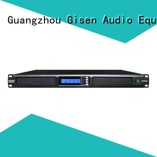 Gisen new model professional power amplifier supplier for venue
