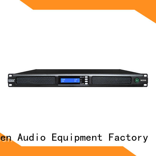 Gisen digital professional power amplifier supplier for venue
