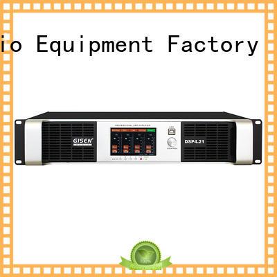Gisen professional 1u amplifier supplier