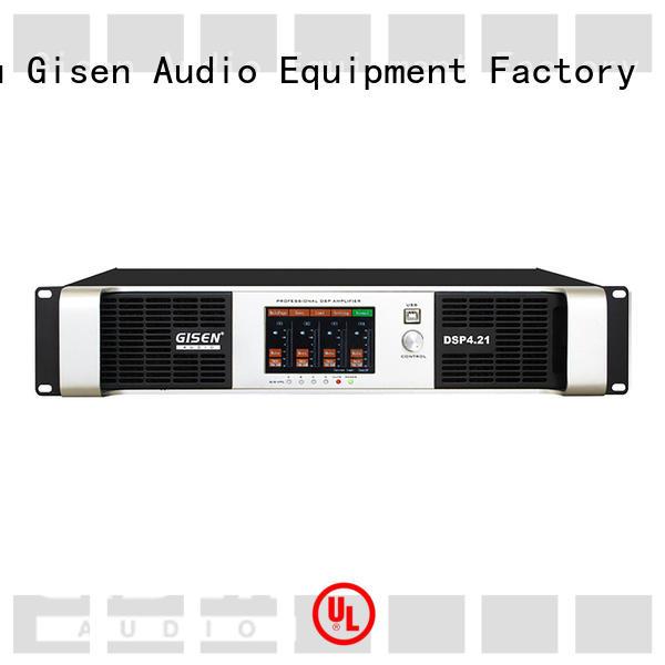 multiple functions good cheap amplifier wholesale for venue Gisen