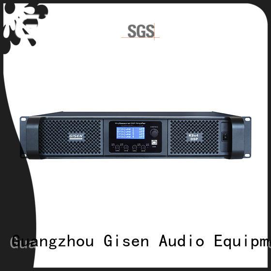 Gisen 2100wx4 amplifier power factory for venue