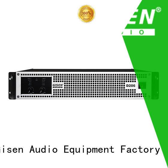 Gisen power hifi class d amplifier manufacturer for meeting