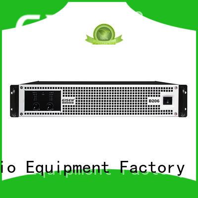 Gisen full range class d audio power amplifier fast shipping for entertaining club