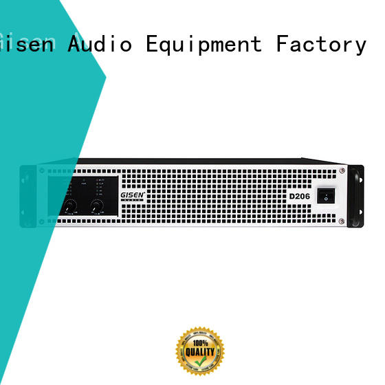 Gisen 2100wx2 home stereo power amplifier wholesale for meeting