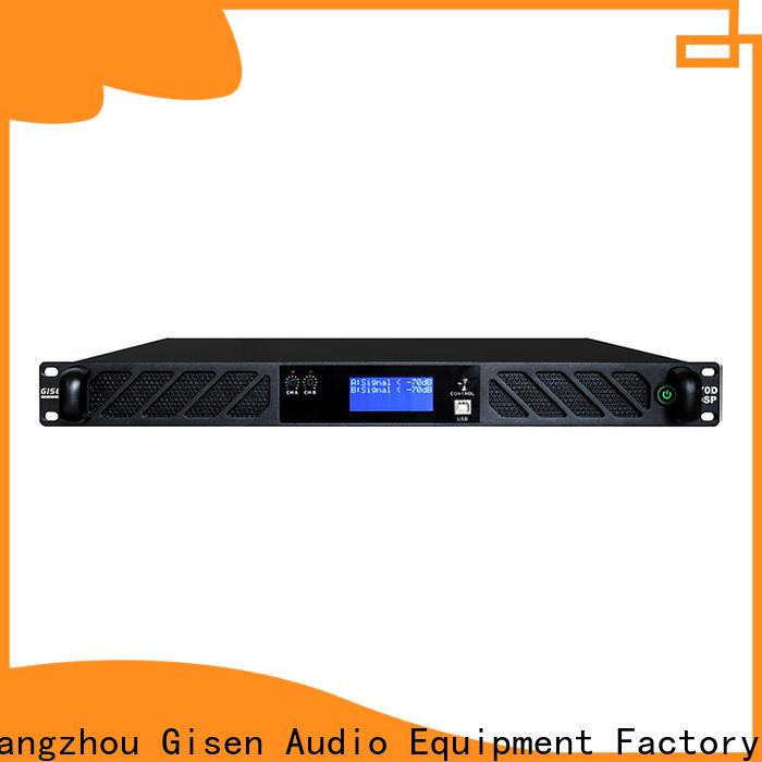 Gisen professional studio amplifier wholesale for venue