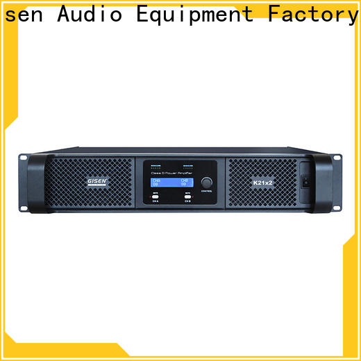 Gisen advanced class d audio amplifier fast delivery for performance