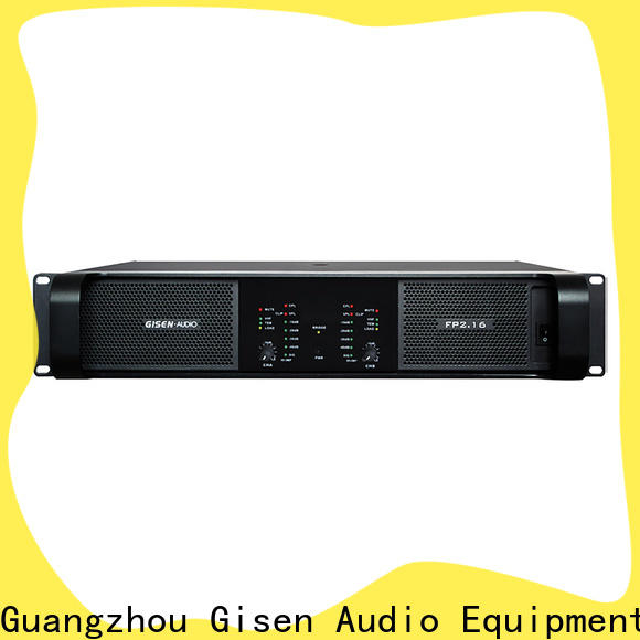 Gisen unbeatable price hifi amplifier one-stop service supplier for night club