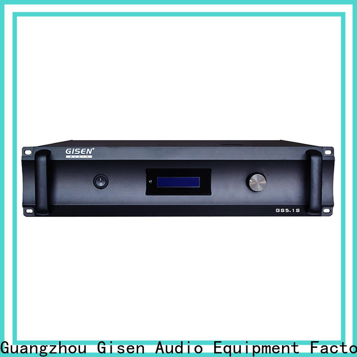 Gisen theatre stereo audio amplifier exporter for private club