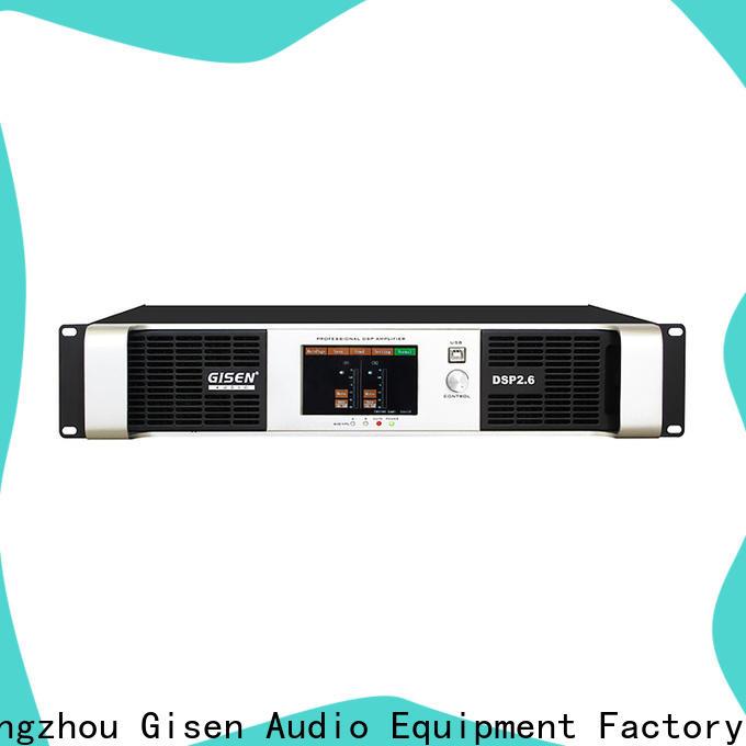 high quality desktop audio amplifier dsp manufacturer for stage