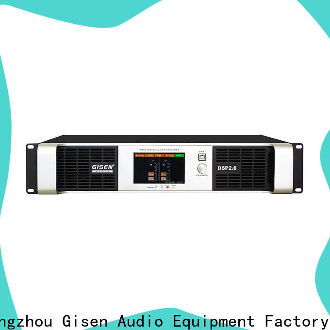 high quality desktop audio amplifier dsp manufacturer for stage
