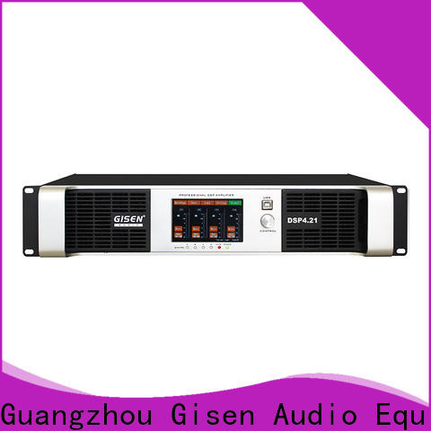 Gisen high quality studio amplifier factory for performance