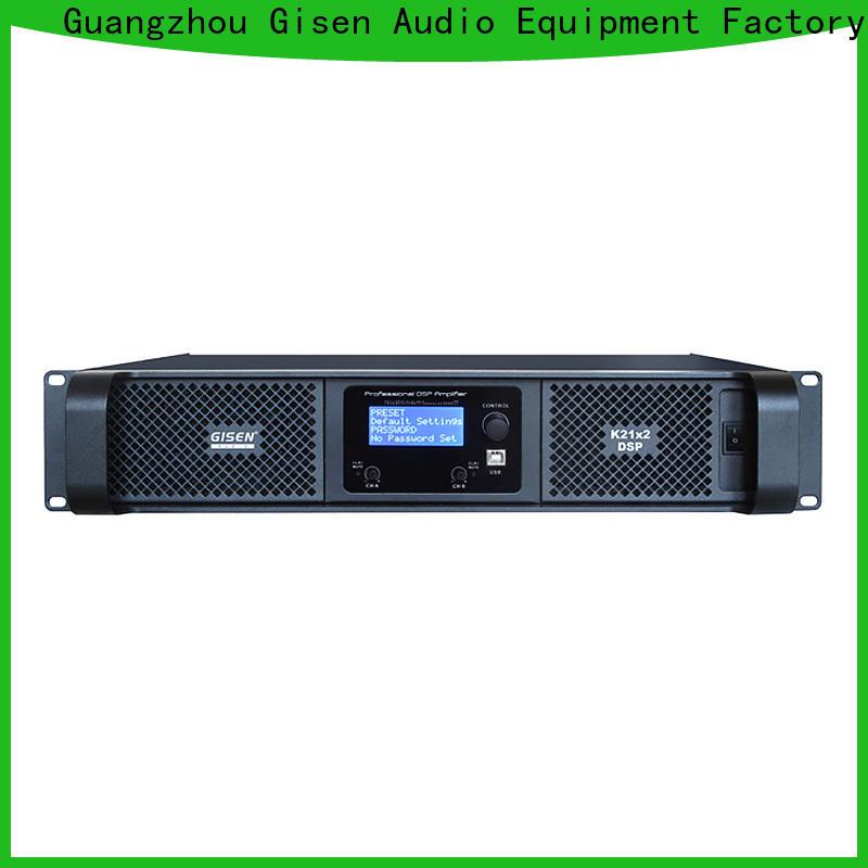 Gisen 1u direct digital amplifier manufacturer for stage