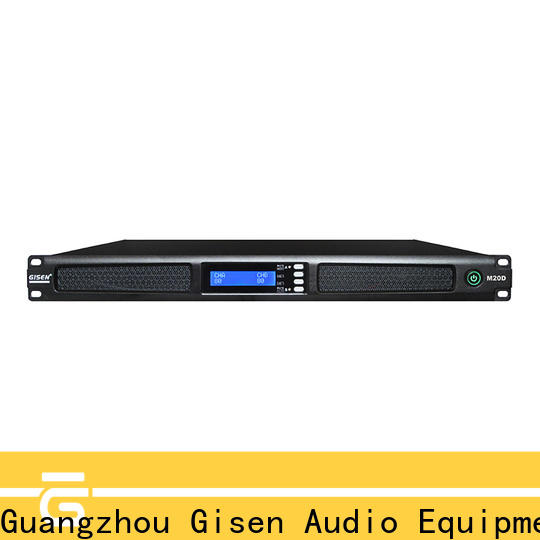 new model power amplifier 4 channel manufacturer for performance