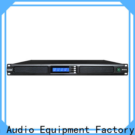 Gisen power 4 channel power amplifier series for venue