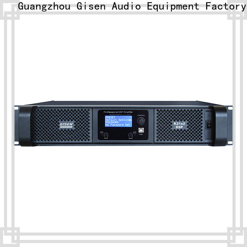 Gisen professional amplifier sound system wholesale for performance