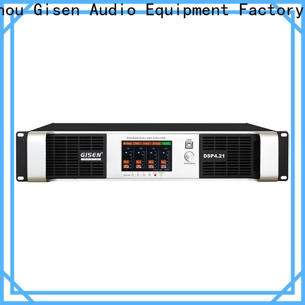 Gisen professional studio amplifier manufacturer for stage