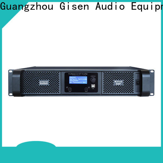 professional multi channel amplifier 2 channel supplier