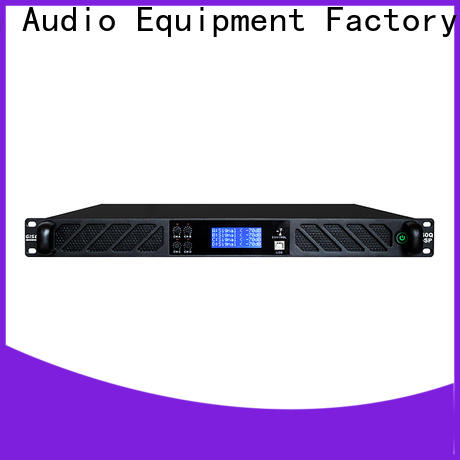 multiple functions dj power amplifier dsp factory for stage