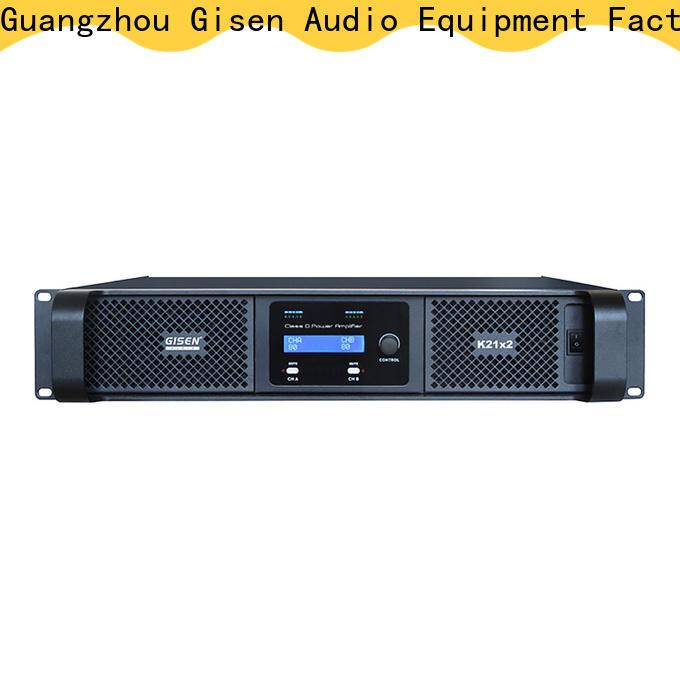 Gisen advanced dj amplifier supplier for entertaining club