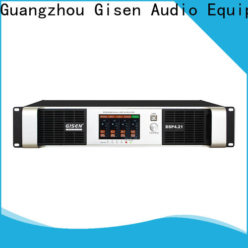 high quality studio amplifier 4 channel manufacturer