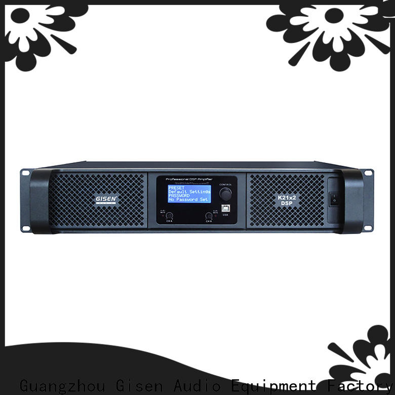 Gisen professional audio amplifier pro manufacturer for stage