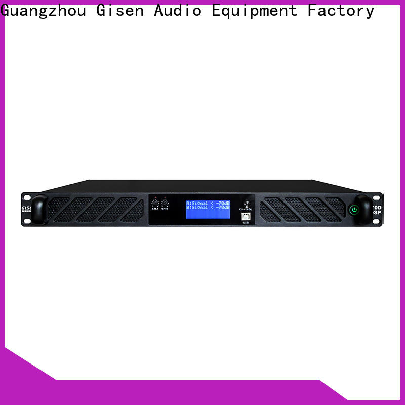 Gisen professional audio amplifier pro manufacturer for performance