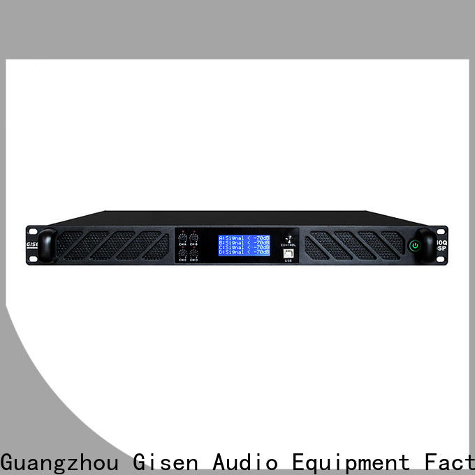 Gisen professional dsp power amplifier wholesale for various occations