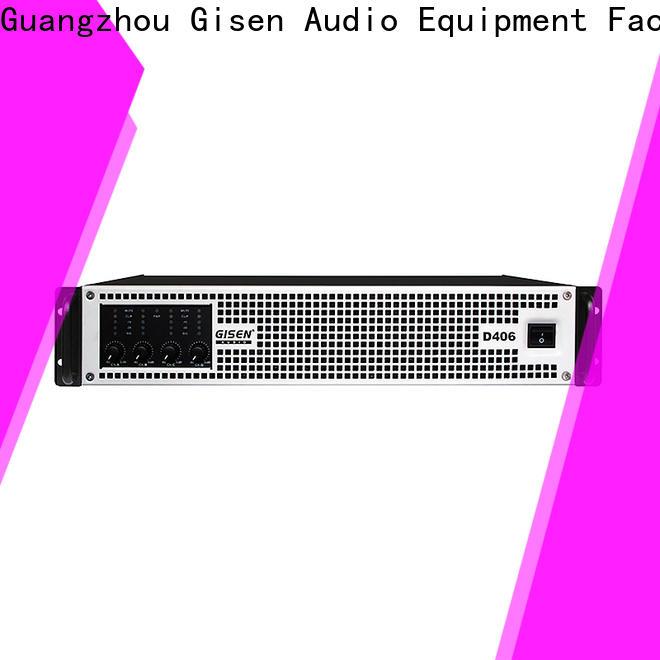 high efficiency class d audio amplifier 2100wx2 supplier for meeting