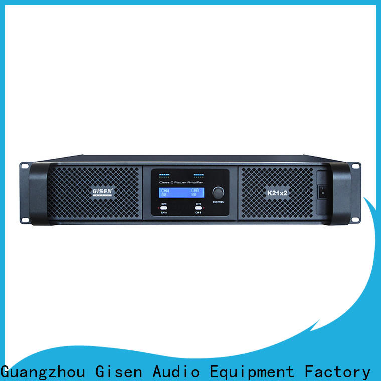 guangzhou hifi class d amplifier full range supplier for stadium