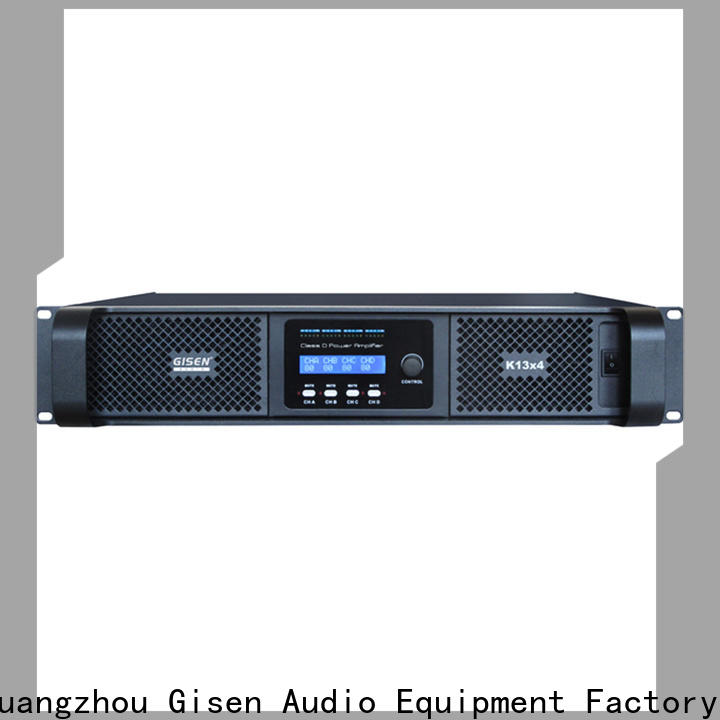 Gisen professional sound digital amplifier fast delivery for ktv