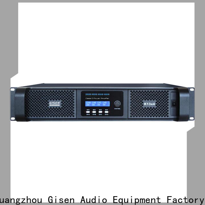 Gisen professional sound digital amplifier fast delivery for ktv