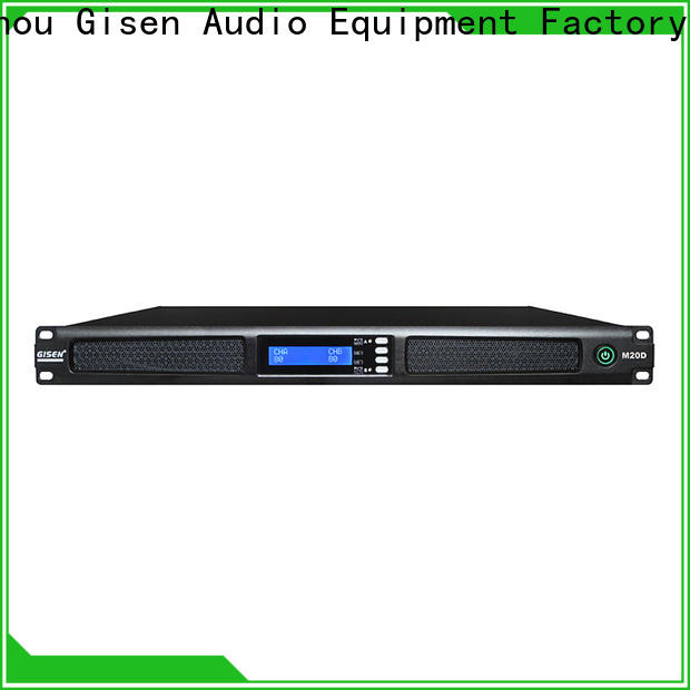 Gisen amplifier 4 channel power amplifier series for entertainment club