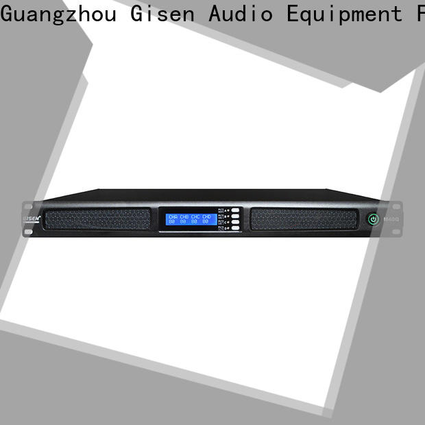 Gisen 1u professional amplifier manufacturer for entertainment club