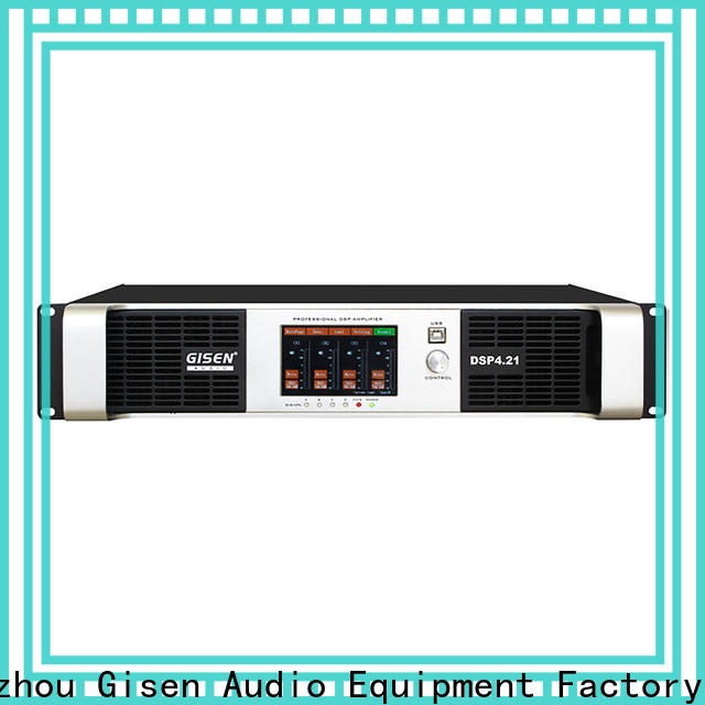 Gisen channel audio amplifier pro wholesale for various occations