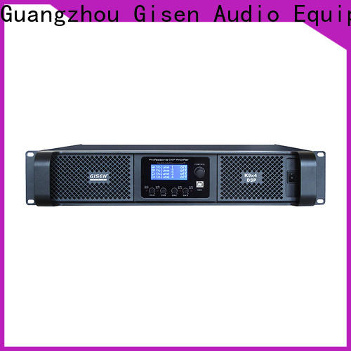 Gisen 1u amplifier power manufacturer for stage