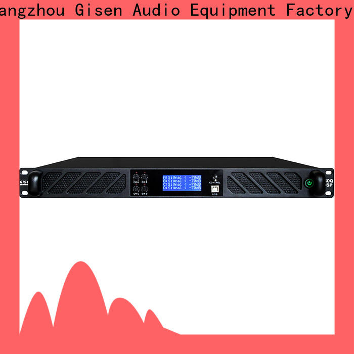 Gisen professional amplifier sound system factory for various occations