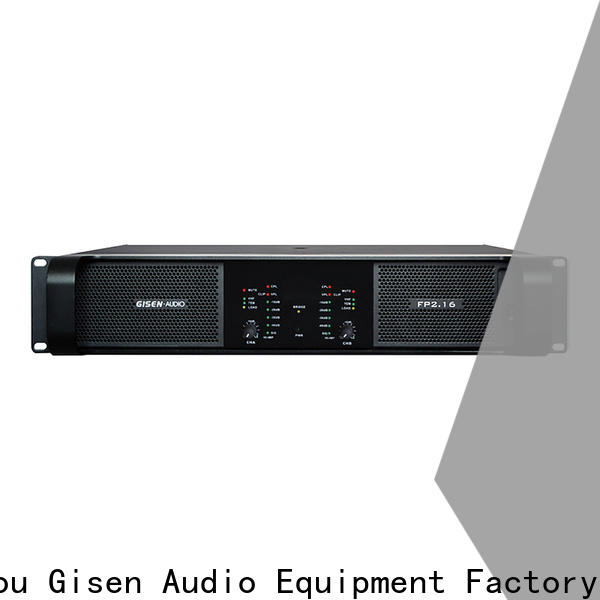 Gisen 4x1300w professional amplifier one-stop service supplier for night club