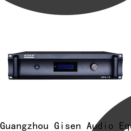 Gisen low distortion home theater subwoofer amplifier manufacturer for home theater