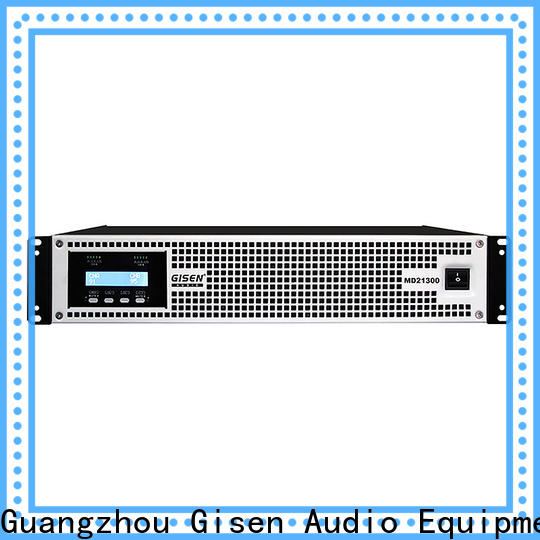 Gisen power audio system amplifier overseas market for meeting