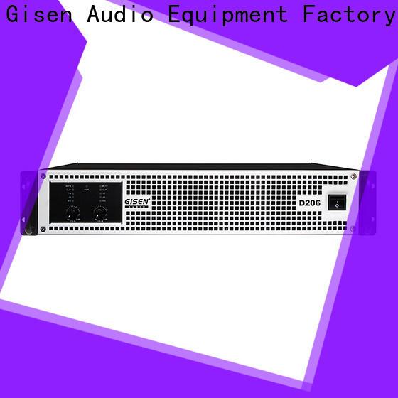 Gisen amplifier sound digital amplifier wholesale for meeting