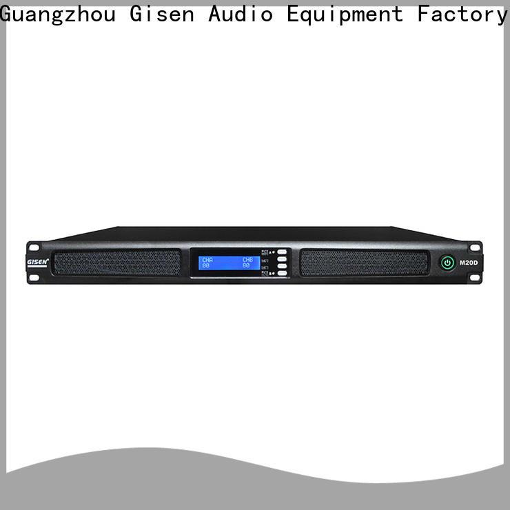 Gisen new model audio power amplifier manufacturer for performance